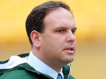 DRAFT MAGIC: General Manager Mike Tannenbaum of the New York Jets needs a little of his drafting magic to get the Jets the players they will need for next season. (Karl Walter/Getty Images)