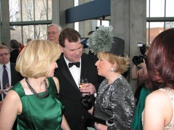 Honourary Chair Laureen Harper and John Baird, Minister of Transport and Infrastructure (Edward Melnychuk)