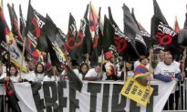 Tibetans March for 50th Anniversary of Uprising