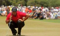 Tiger Woods Wins In Auz