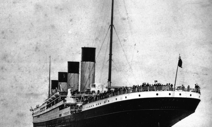 The Azamara, which left from New York, is one of the two Titanic Memorial Cruise ships. The second ship, the Balmoral, set sail from Southampton, England. (Courtesy of Titanic Memorial Cruise)