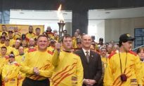 Special Olympics Torch Makes NYC Visit