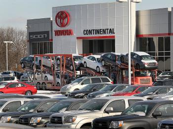 Toyota has announced a plan to repair of millions of vehicles with a defect in the accelerator pedal assembly. (Scott Olson/Getty Images)
