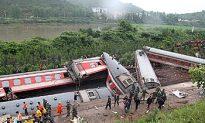 Train Derailment in China, 19 Known Dead