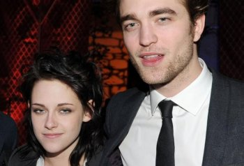 'Twilight: Breaking Dawn,' the series' final installment, will be released in two parts. The first part will be out November 2011. Pictured above: Robert Pattinson and Kristen Stewart.(Kevin Winter/Getty Images)