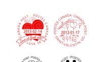 Canadian 'Valentine's Day' Postmarks Popular Around the World