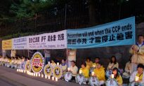 Candlelight Vigil Marks 13 Years of Falun Gong Persecution