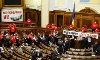 Ukrainian Opposition Blocks Work of Parliament