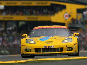 Jan Magnussen drives the #63 Corvette Racing Chevrolet Corvette ZR1 during the 78th running of the Le Mans 24 Hours. (Darrell Ingham/Getty Images)