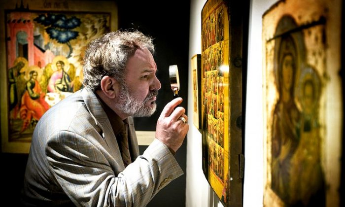 Intensive vetting at TEFAF Maastricht. (Loraine Bodewes/Courtesy of TEFAF)