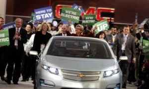 Leaner, Greener GM Highlights Electric, Hybrid Cars