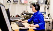 Sending Shortwaves of Hope from Manhattan to China