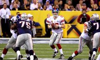 Super Bowl XLVI: NY Giants Leading NE Patriots 9–0 After One