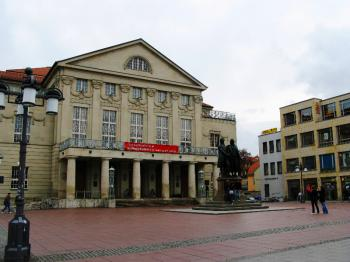 National Theater, Weimar. (Joachim Frank)