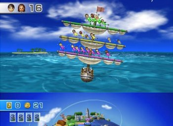 Wii Party: Promotional screenshots from the new game from Nintendo. ((Nintendo.co.jp))