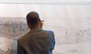 Artist Makes 18-Foot Manhattan Rendering from Memory