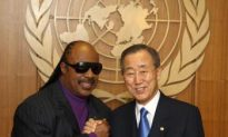 Stevie Wonder Named Latest United Nations Messenger Of Peace