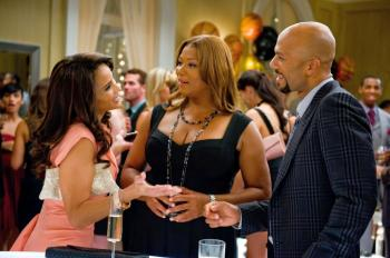 (L-R) Paula Patton, Queen Latifah, and Common in 'Just Wright.'  (David Lee/Fox Searchlight)
