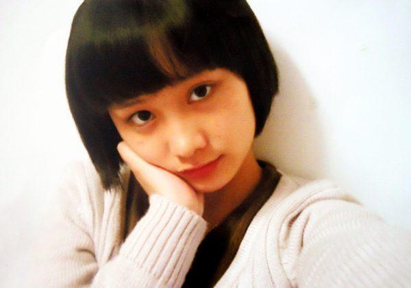 The 17-year-old Zhou Yan before suffering horrendous burns. (Picture by Zhou Yan's mother, Li Cong)