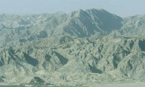 Giant Rock 'Faces' Found in the  Western Tianshan Mountains