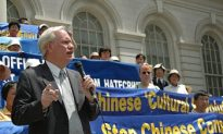 Rally Decries Communist Influence in the U.S.