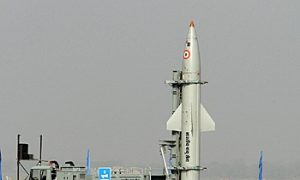India Tests Missile System for the Third Time