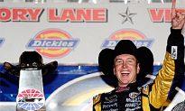 Kurt Busch Wins Texas NASCAR Race; Jimmie Johnson Crashes