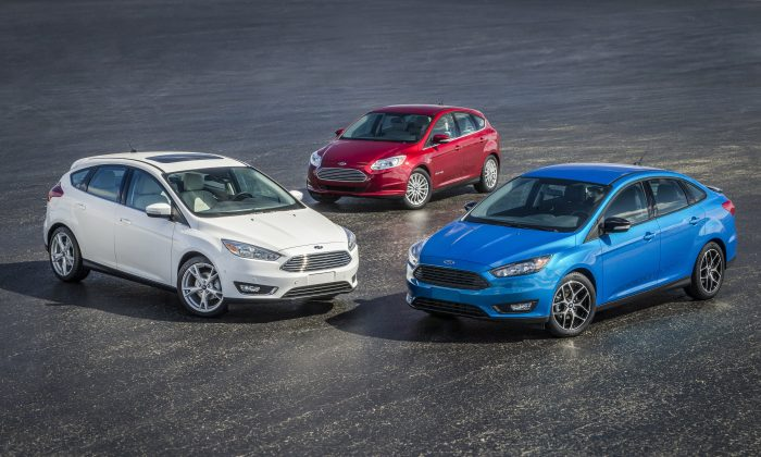 2015 Ford Focus (Courtesy of Ford)