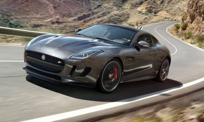 2016 Jaguar Type F (Courtesy of Jaguar)