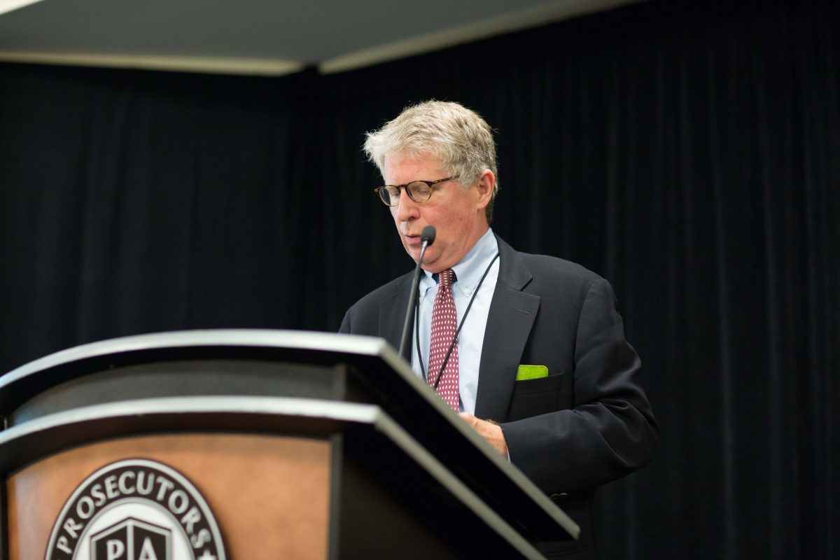 Manhattan District Attorney Cyrus R. Vance Jr. in Atlanta on Oct. 21, 2014. (AP Photo/Branden Camp)