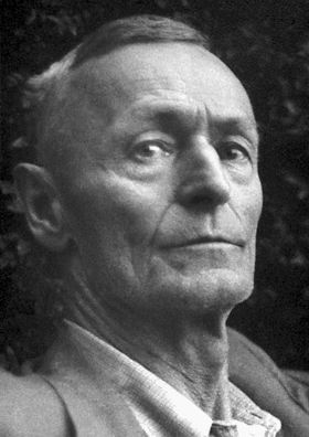 Hermann Hesse in 1946 (Public Domain)