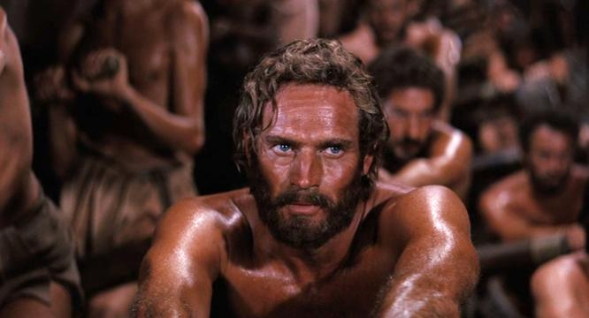 Charlton Heston as Judah Ben-Hur, condemned  to the galleys for a crime he didn't commit. (Metro-Goldwyn-Mayer)