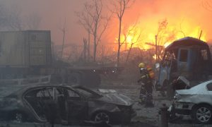 After Tianjin Explosion, Why Are Chinese Hating on the Red Cross?