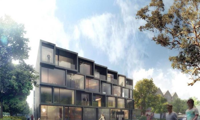 Rendering of The Tree House at Gerrard and Warden in Toronto. (Courtesy of Fortress Real Developments Inc.)