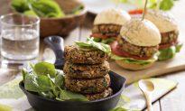 Recipe: Zesty, Vegan Two-Bean Burgers