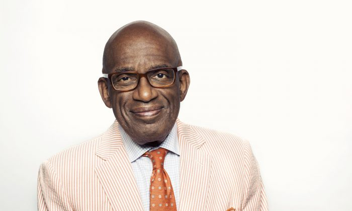 """Al Roker poses for a portrait in promotion of his new book """"The Storm of the Century"""" on Tuesday, Aug. 4, 2015 in New York. (Photo by Victoria Will/Invision/AP)"""