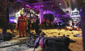 Deadly Bangkok Bombing in 20 Images
