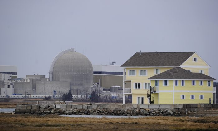 The Seabrook Nuclear Power Plant in Seabrook, New Hampshire, on March 21, 2011. The plant, more commonly known as Seabrook Station, is located approximately 40 miles (64 km) North of Boston and 10 miles (16 km) South of Portsmouth. Some of America's nuclear power plants loom near big city populations, or perch perilously close to earthquake fault lines. Others have aged past their expiration dates but keep churning anyway. (Emmanuel Dunand/AFP/Getty Images)