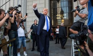 Trump Reports for New York Jury Duty, Takes Campaign Break