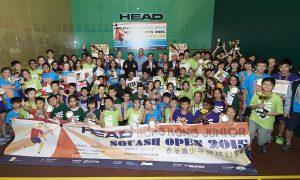 Head Junior Hong Kong Squash Open 2015
