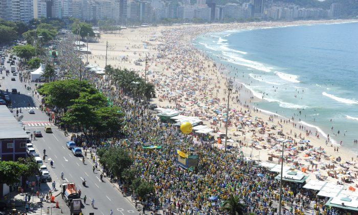 File photo of a beach. (Tasso Marcelo/AFP/Getty Images)