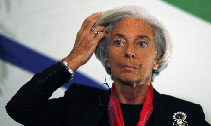 Christine Lagarde, managing director of the International Monetary Fund (IMF), in this file photo. (AP Photo/Luis Hidalgo)