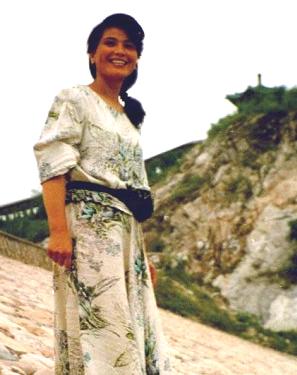 Meng Ziangji&#039s mother, Liu Guifu.