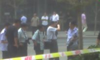 Taxi Runs Down Nine Pedestrians, Driver Killed by Crowd