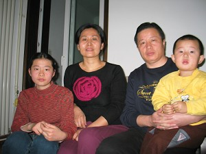 Attorney Gao Zhisheng's family. (The Epoch Times)