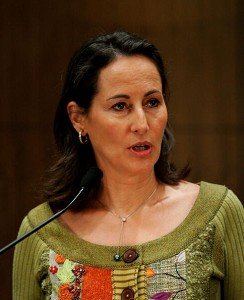Socialist candidate for the French presidency, Segolene Royal, visits Beijing, January 9, 2007. (Guang Niu/Getty Images News)