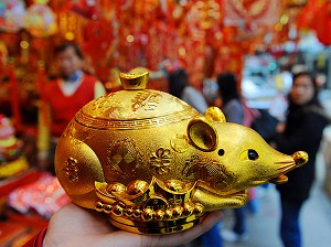 According to the Chinese lunar calender, 2020 is the Year of the Rat. (Getty Images)