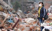 Strong Aftershock Causes More Misery in China
