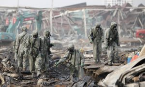 Expert: Tianjin Blast Likely Led to Water 'Significantly Contaminated' With Cyanide