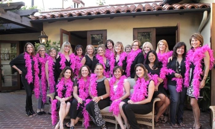 A group photo of volunteers at the Cancer Support Community, based in Pasadena, Calif. (Courtesy of Cancer Support Community)